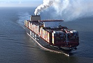 MSC Containerschiff